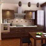 фото Интерьер кухни 9 кв м от 02.01.2018 №014 - Kitchen interior 9 sq M - design-foto.ru