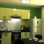 фото Интерьер кухни 9 кв м от 02.01.2018 №015 - Kitchen interior 9 sq M - design-foto.ru