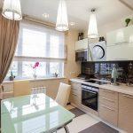 фото Интерьер кухни 9 кв м от 02.01.2018 №018 - Kitchen interior 9 sq M - design-foto.ru