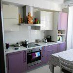 фото Интерьер кухни 9 кв м от 02.01.2018 №021 - Kitchen interior 9 sq M - design-foto.ru 2346234