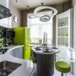 фото Интерьер кухни 9 кв м от 02.01.2018 №024 - Kitchen interior 9 sq M - design-foto.ru