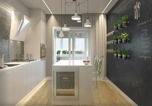 фото Интерьер кухни 9 кв м от 02.01.2018 №025 - Kitchen interior 9 sq M - design-foto.ru