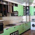 фото Интерьер кухни 9 кв м от 02.01.2018 №027 - Kitchen interior 9 sq M - design-foto.ru