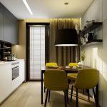 фото Интерьер кухни 9 кв м от 02.01.2018 №029 - Kitchen interior 9 sq M - design-foto.ru