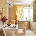 фото Интерьер кухни 9 кв м от 02.01.2018 №031 - Kitchen interior 9 sq M - design-foto.ru