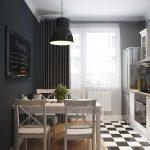 фото Интерьер кухни 9 кв м от 02.01.2018 №033 - Kitchen interior 9 sq M - design-foto.ru