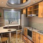 фото Интерьер кухни 9 кв м от 02.01.2018 №035 - Kitchen interior 9 sq M - design-foto.ru
