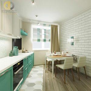 фото Интерьер кухни 9 кв м от 02.01.2018 №038 - Kitchen interior 9 sq M - design-foto.ru