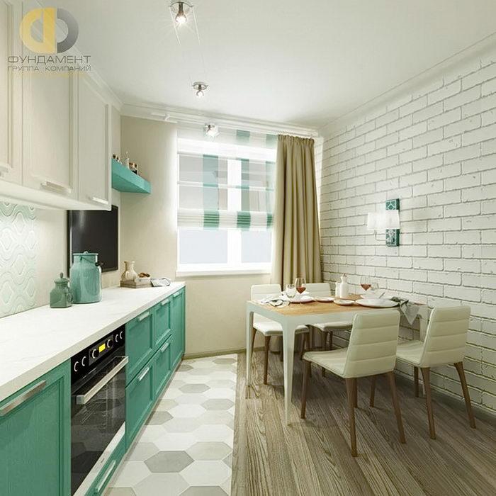фото Интерьер кухни 9 кв м от 02 01 2018 038 Kitchen Interior