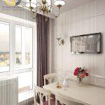 фото Интерьер кухни 9 кв м от 02.01.2018 №039 - Kitchen interior 9 sq M - design-foto.ru