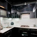 фото Интерьер кухни 9 кв м от 02.01.2018 №040 - Kitchen interior 9 sq M - design-foto.ru