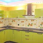 фото Интерьер кухни 9 кв м от 02.01.2018 №041 - Kitchen interior 9 sq M - design-foto.ru