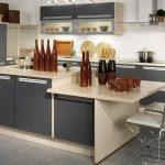 фото Интерьер кухни 9 кв м от 02.01.2018 №047 - Kitchen interior 9 sq M - design-foto.ru