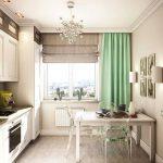 фото Интерьер кухни 9 кв м от 02.01.2018 №048 - Kitchen interior 9 sq M - design-foto.ru
