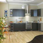 фото Интерьер кухни 9 кв м от 02.01.2018 №050 - Kitchen interior 9 sq M - design-foto.ru