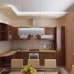 фото Интерьер кухни 9 кв м от 02.01.2018 №051 - Kitchen interior 9 sq M - design-foto.ru
