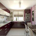 фото Интерьер кухни 9 кв м от 02.01.2018 №052 - Kitchen interior 9 sq M - design-foto.ru
