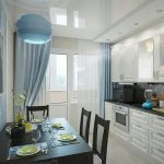 фото Интерьер кухни 9 кв м от 02.01.2018 №057 - Kitchen interior 9 sq M - design-foto.ru