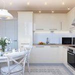 фото Интерьер кухни 9 кв м от 02.01.2018 №059 - Kitchen interior 9 sq M - design-foto.ru