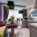 фото Интерьер кухни 9 кв м от 02.01.2018 №060 - Kitchen interior 9 sq M - design-foto.ru