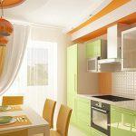 фото Интерьер кухни 9 кв м от 02.01.2018 №063 - Kitchen interior 9 sq M - design-foto.ru