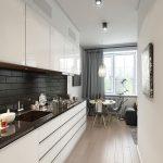 фото Интерьер кухни 9 кв м от 02.01.2018 №064 - Kitchen interior 9 sq M - design-foto.ru