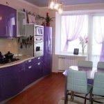 фото Интерьер кухни 9 кв м от 02.01.2018 №065 - Kitchen interior 9 sq M - design-foto.ru