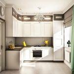 фото Интерьер кухни 9 кв м от 02.01.2018 №068 - Kitchen interior 9 sq M - design-foto.ru