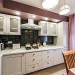 фото Интерьер кухни 9 кв м от 02.01.2018 №070 - Kitchen interior 9 sq M - design-foto.ru