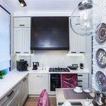 фото Интерьер кухни 9 кв м от 02.01.2018 №073 - Kitchen interior 9 sq M - design-foto.ru