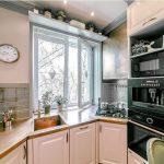 фото Интерьер кухни 9 кв м от 02.01.2018 №074 - Kitchen interior 9 sq M - design-foto.ru