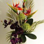 фото Искусственные цветы в интерьере от 26.03.2018 №002 - Artificial flowe - design-foto.ru