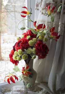 фото Искусственные цветы в интерьере от 26.03.2018 №005 - Artificial flowe - design-foto.ru