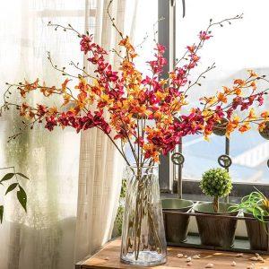 фото Искусственные цветы в интерьере от 26.03.2018 №011 - Artificial flowe - design-foto.ru