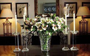 фото Искусственные цветы в интерьере от 26.03.2018 №012 - Artificial flowe - design-foto.ru