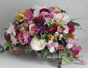 фото Искусственные цветы в интерьере от 26.03.2018 №015 - Artificial flowe - design-foto.ru
