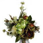 фото Искусственные цветы в интерьере от 26.03.2018 №021 - Artificial flowe - design-foto.ru