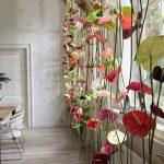 фото Искусственные цветы в интерьере от 26.03.2018 №023 - Artificial flowe - design-foto.ru