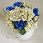 фото Искусственные цветы в интерьере от 26.03.2018 №025 - Artificial flowe - design-foto.ru