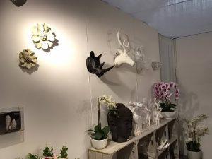 фото Искусственные цветы в интерьере от 26.03.2018 №031 - Artificial flowe - design-foto.ru