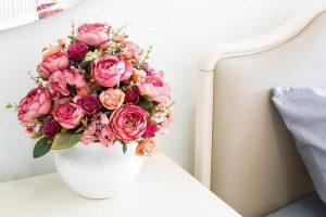 фото Искусственные цветы в интерьере от 26.03.2018 №032 - Artificial flowe - design-foto.ru