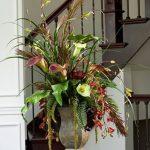 фото Искусственные цветы в интерьере от 26.03.2018 №033 - Artificial flowe - design-foto.ru