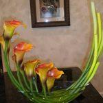 фото Искусственные цветы в интерьере от 26.03.2018 №045 - Artificial flowe - design-foto.ru