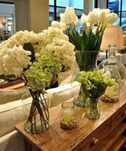 фото Искусственные цветы в интерьере от 26.03.2018 №057 - Artificial flowe - design-foto.ru