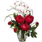 фото Искусственные цветы в интерьере от 26.03.2018 №058 - Artificial flowe - design-foto.ru