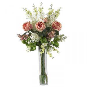 фото Искусственные цветы в интерьере от 26.03.2018 №060 - Artificial flowe - design-foto.ru