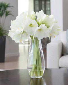 фото Искусственные цветы в интерьере от 26.03.2018 №063 - Artificial flowe - design-foto.ru