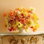 фото Искусственные цветы в интерьере от 26.03.2018 №066 - Artificial flowe - design-foto.ru