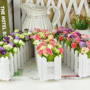 фото Искусственные цветы в интерьере от 26.03.2018 №069 - Artificial flowe - design-foto.ru
