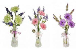 фото Искусственные цветы в интерьере от 26.03.2018 №070 - Artificial flowe - design-foto.ru